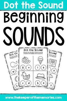 beginning sounds worksheets images kindergarten