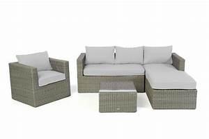 Salon De Jardin Arrondi : meubles de jardins mobilier pour jardin table de ~ Nature-et-papiers.com Idées de Décoration