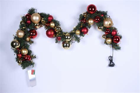 christmas garland christmas pvc garland christmas ball