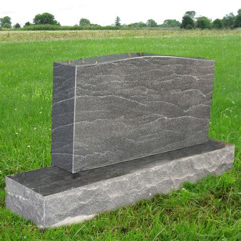 american black granite monument grave marker