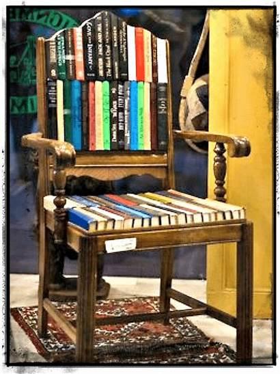 Repurpose Books Ways Creative Plus Infographic Chair
