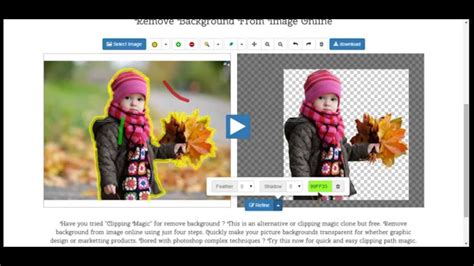 Free Image Background Remover Remove Background From Image Clipping Magic Clone