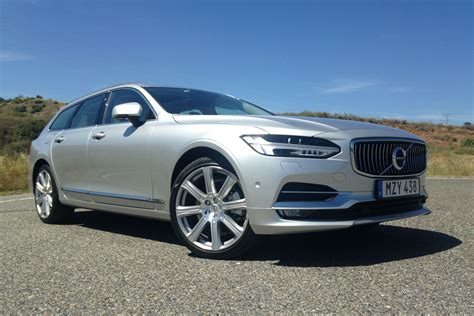 Volvo V90 Wagon by 2017 Volvo V90 Review Luxury Wagon Takes On The Germans