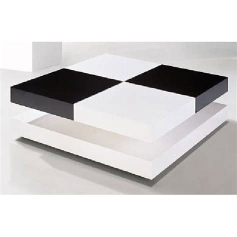 cheap white gloss coffee table davis square coffee table in high gloss white and black
