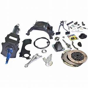 Complete 4 Speed Conversion Kit  Small Block Auto To