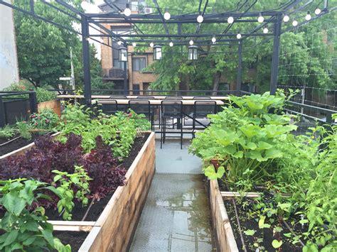 Jardin Potager Pour Restaurant  Semis Urbains