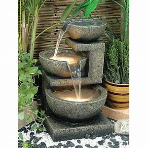 Alfresco home rocca water patio fountain for Water fountain patio