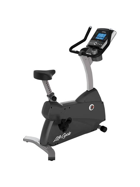 Life Fitness Lifecycle C3 Upright Exercise Bike with Go ...