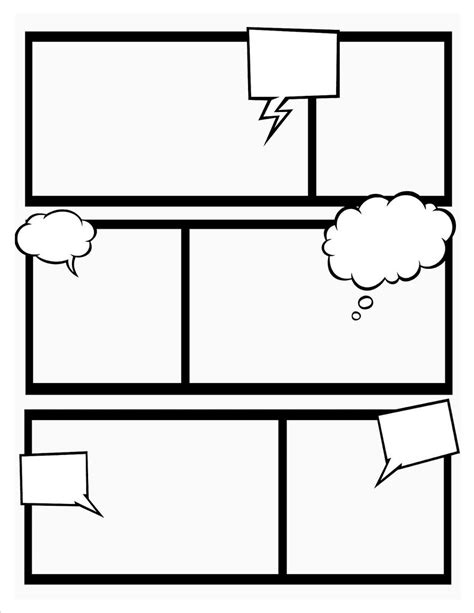 comic book template stretch your creativity and create you flickr