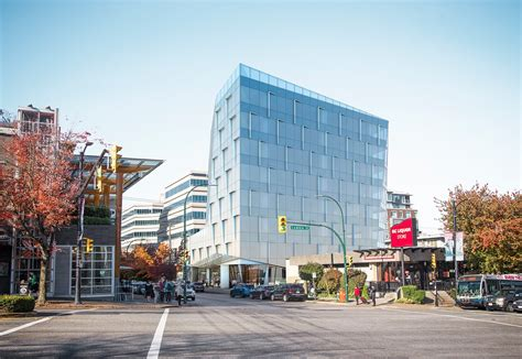 renderings  glassy angled office tower  cambie  west  urbanyvr