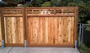 Fence with Lattice Top