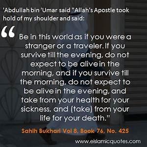 Islamic Quotes ... Abdullah Ibn Umar Quotes