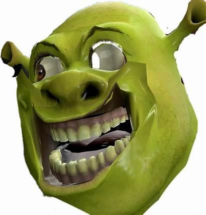 Shrek Funny Dank Creepy Sticker Picsart