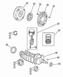 1995 Dodge Neon Seal  Crankshaft Oil  Front Main