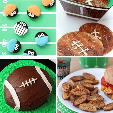 football food ideas 25 fun football themed foods to serve at your super bowl party
