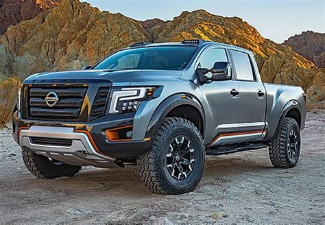 nissan titan concept  price trucks suv reviews