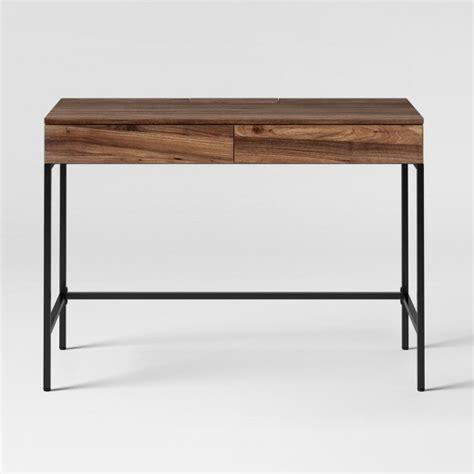 desk at target darley writing desk walnut threshold target