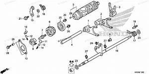 Honda Atv 2014 Oem Parts Diagram For Gearshift Fork  1