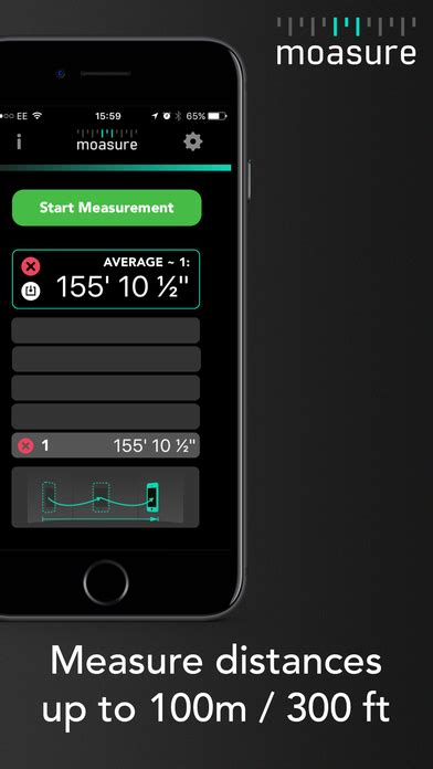 iphone measuring app moasure the smart measure on the app