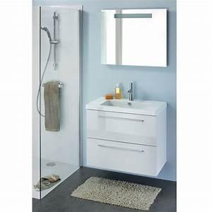 meuble vasque salle de bain castorama wasuk With meuble miroir salle de bain castorama