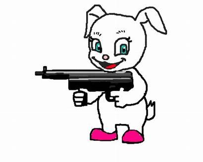 Gun Shooting Machine Clipart Panda Bunny Powerpoint