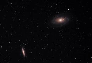 Dual Galaxies M81 and M82 – Brahmand is Me
