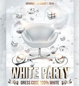 White Party Flyer Template Free - Stackerx.info