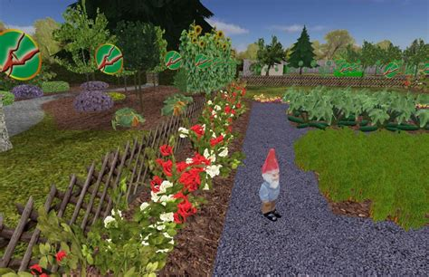 Gartensimulator 2010 Virtuell Unkraut Jäten News