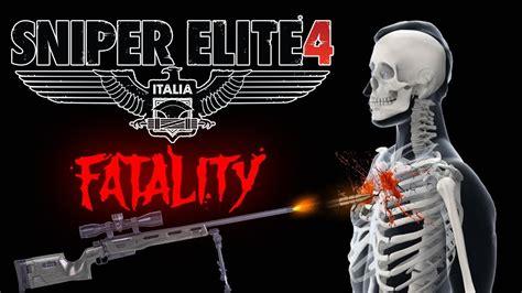 Sniper Elite 4 Itália Precisão Mortal E Combate Suave