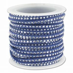 Band Mit M : suede band mit nieten 3 mm blau silberfarben x 5 m perles co ~ Eleganceandgraceweddings.com Haus und Dekorationen