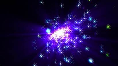 4k Background Stars Shooting Moving