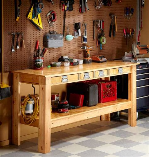 workbench plans ideas  pinterest  workbench plans workbench ideas  diy workbench