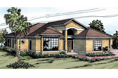 mediteranean house plans mediterranean house plans odessa 11 021 associated designs