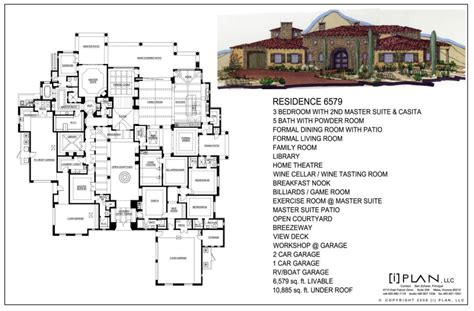 Home Design 50 Sq Ft : House Plans 5000 Sq Ft Or More