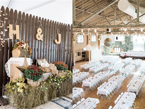 Backyard Wedding Inspiration  Rustic & Romantic Country