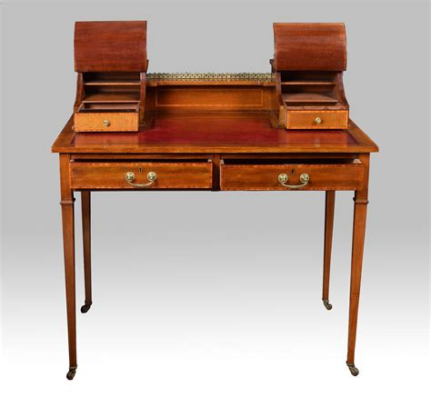 Small Antique Writing Desk by Edwardian Mahogany Writing Desk Antiques Atlas