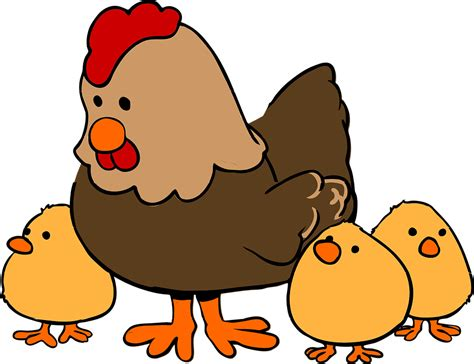 Chicken Hen Cute · Free Vector Graphic On Pixabay