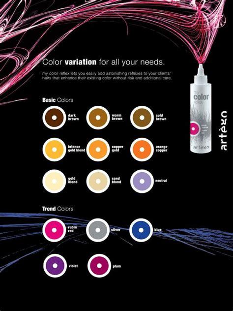 artego  color reflex color variation color charts