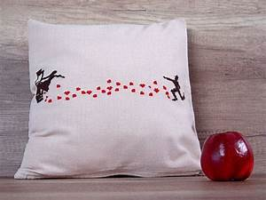Long Distance Relationship Idea Pillow Cover 16 X 16 40