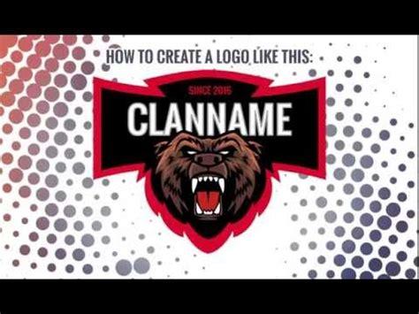 gaming clan logo erstellen mit dem gaming logo maker youtube
