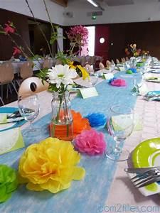 Décoration De Table Anniversaire : decoration de table anniversaire 60 ans ~ Melissatoandfro.com Idées de Décoration