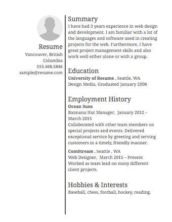 Create My Resume by 49 Great Create My Resume With Pictures