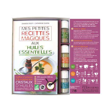 livre de cuisine bio livre coffret cuisine aux huiles ess aromandise acheter
