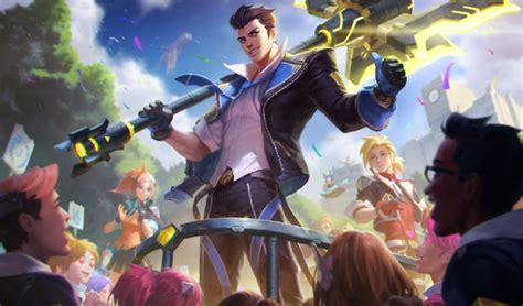 surrender   pbe preview battle academia skins