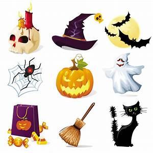 Halloween design elements vector | Vector Graphics Blog