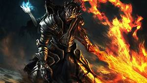Dark, Souls, Fire, Sord, Warrior, Hd, Games, Wallpapers
