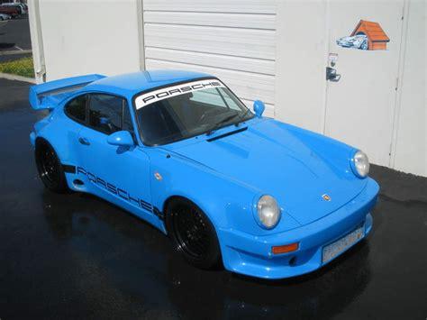 porsche 930 rsr fs porsche 930 rsr mexico blue 600hp magazine car
