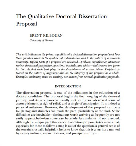 dissertation template thesis ecology