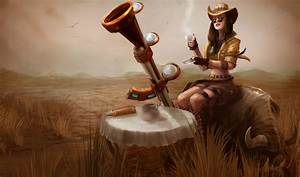 LoL Skins - Safari Caitlyn