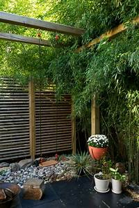 choisissez un panneau occultant de jardin archzinefr With affiche chambre bébé avec pot de fleur exterieur bois